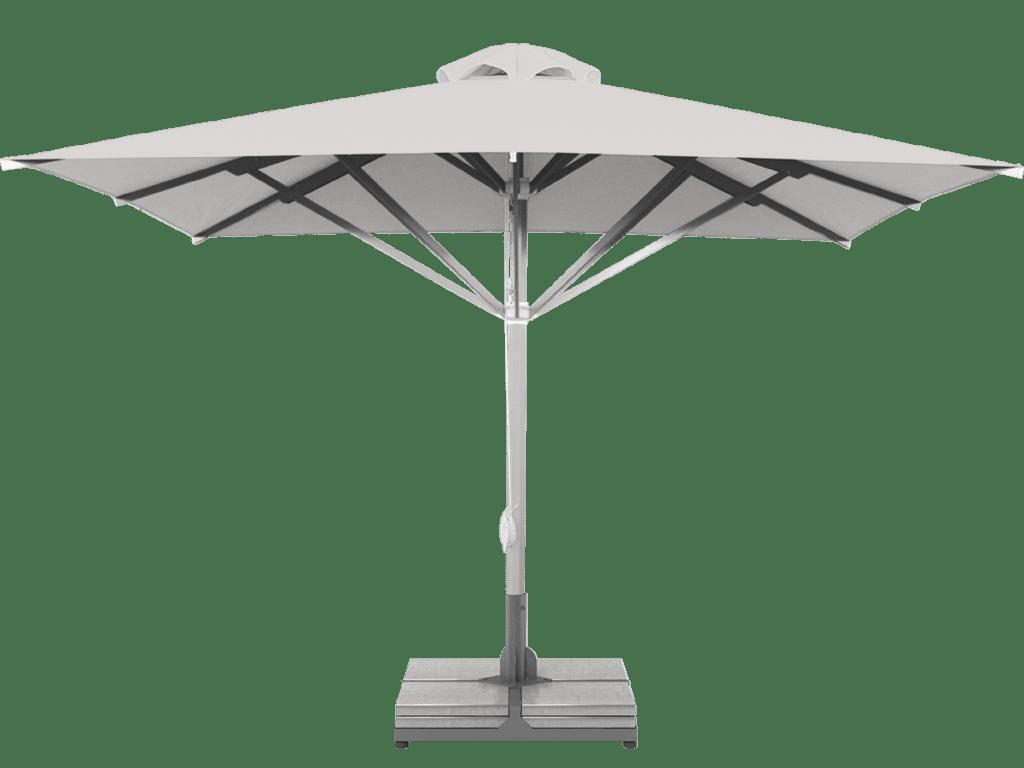Telescopic Professional Umbrella Grand Extra Heavy - Type ecru