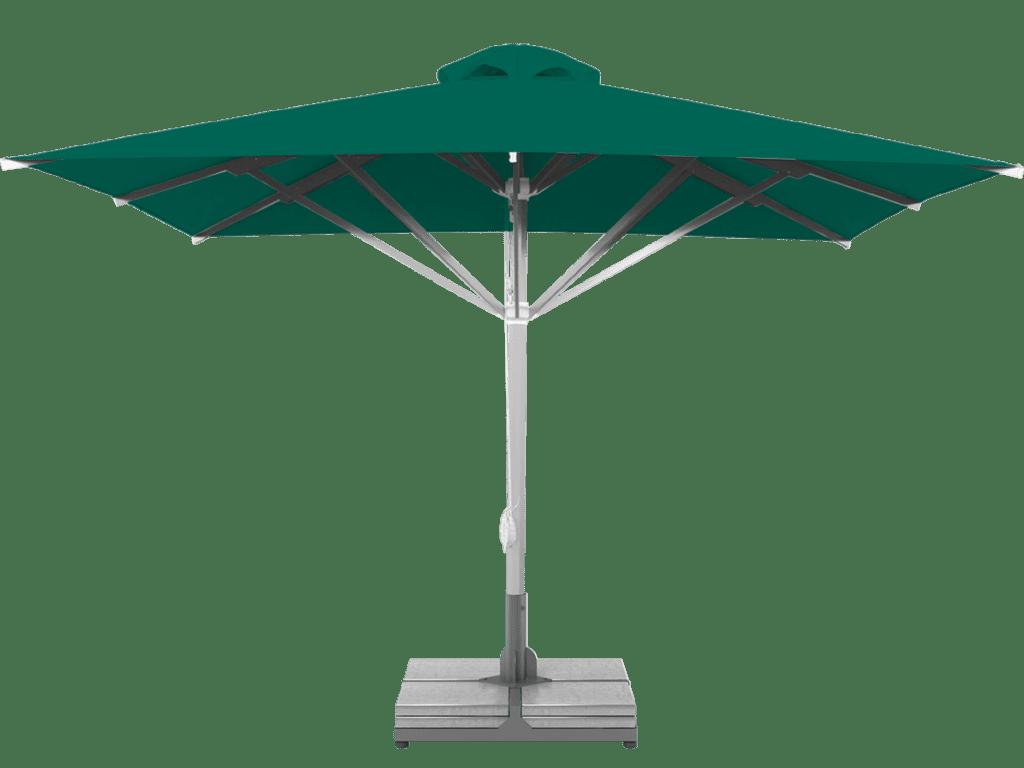 Telescopic Professional Umbrella Grand Extra Heavy Type vert
