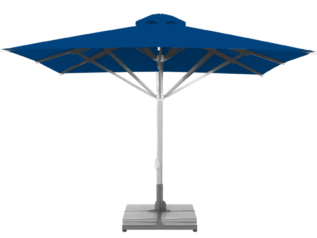 Professional Telescopic Umbrella Grand Extra Heavy Type blue