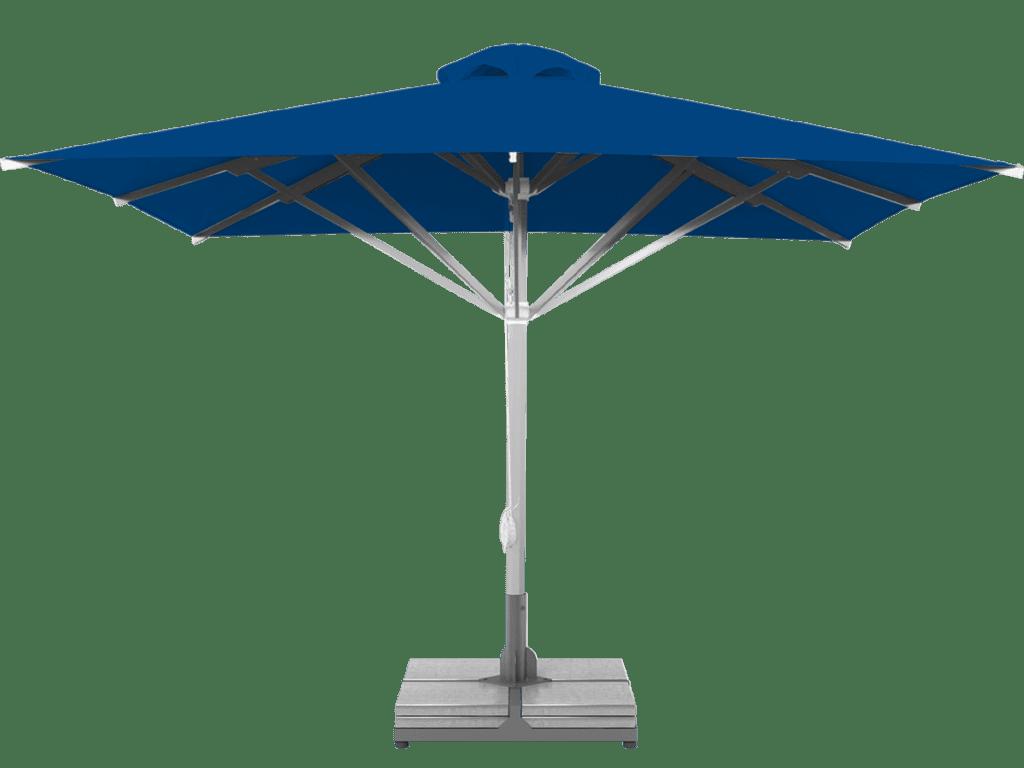 Τηλεσκοπική Επαγγελματικη Ομπρελα Grand Υπερ-Βαρεως-Τυπου blue