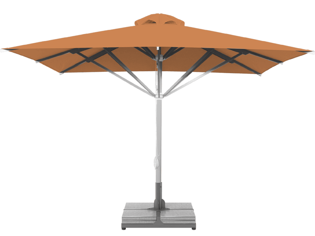 Professional Telescopic Umbrella Grand Sable Extra Heavy Type - Sunblock