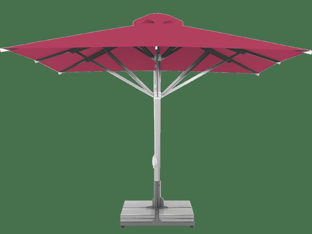 Telescopic Professional Umbrella Grand Extra Heavy Type pink