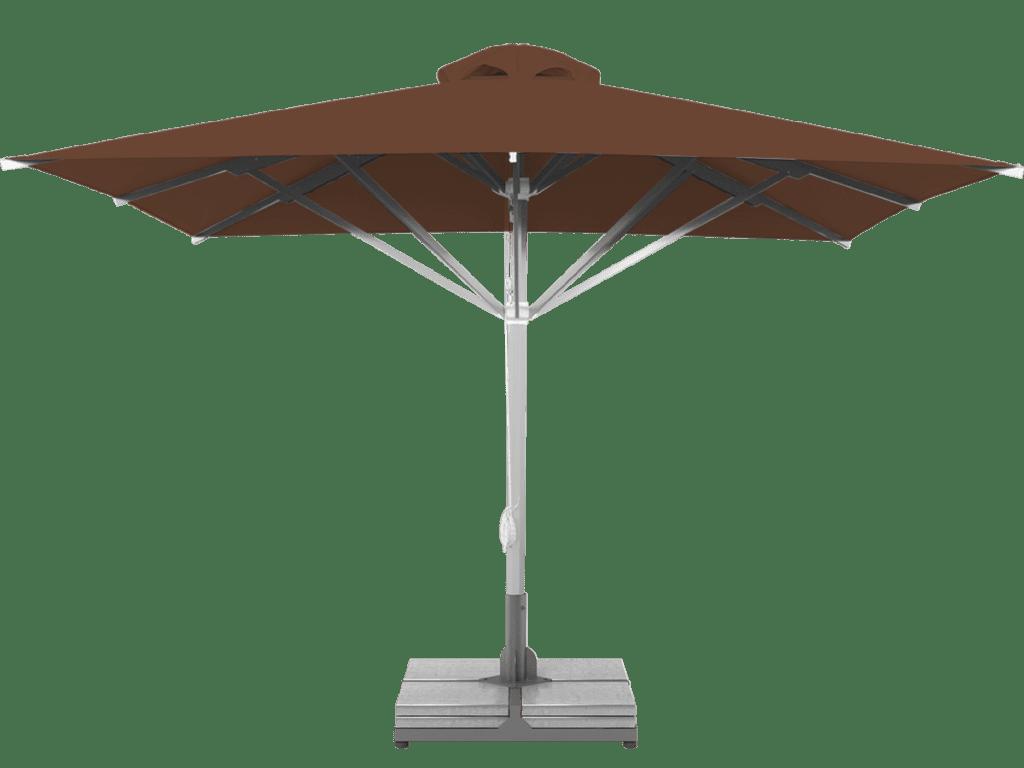 Professional Telescopic Umbrella Grand Extra Heavy - Type marron