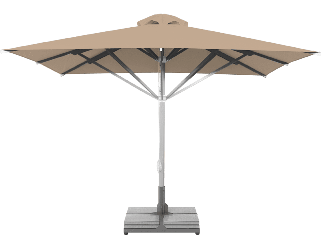 Professional Telescopic Umbrella Grand Extra Heavy - Type dune