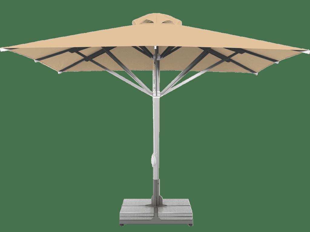 Professional Telescopic Umbrella Grand Sampagne Extra Heavy Type - Sunblock