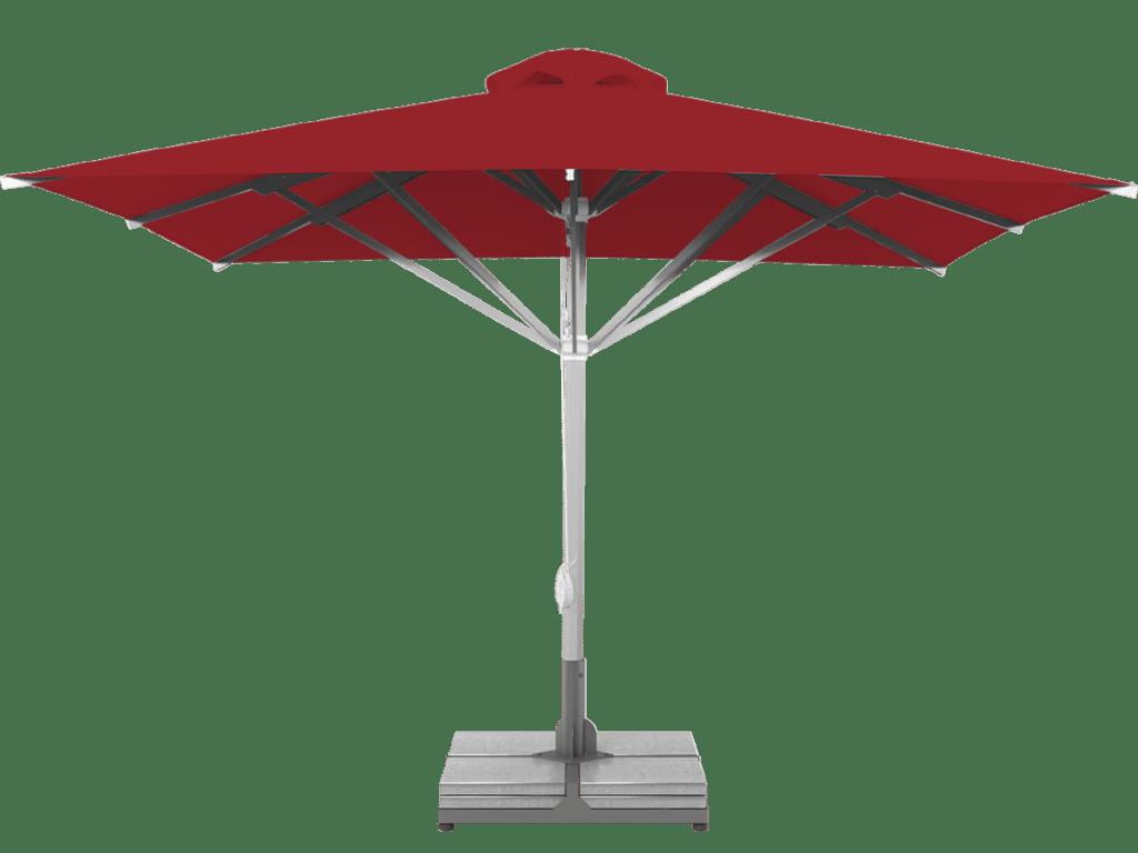 Τηλεσκοπική Ομπρέλα Επαγγελματική Grand Υπέρ-βαρέως Τύπου rouge