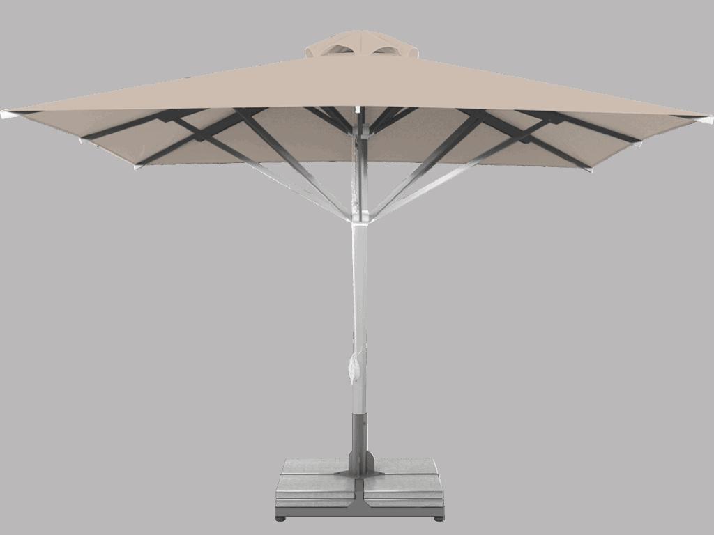 ΕProfessional Telescopic Umbrella Grand Extra Heavy - Type grege