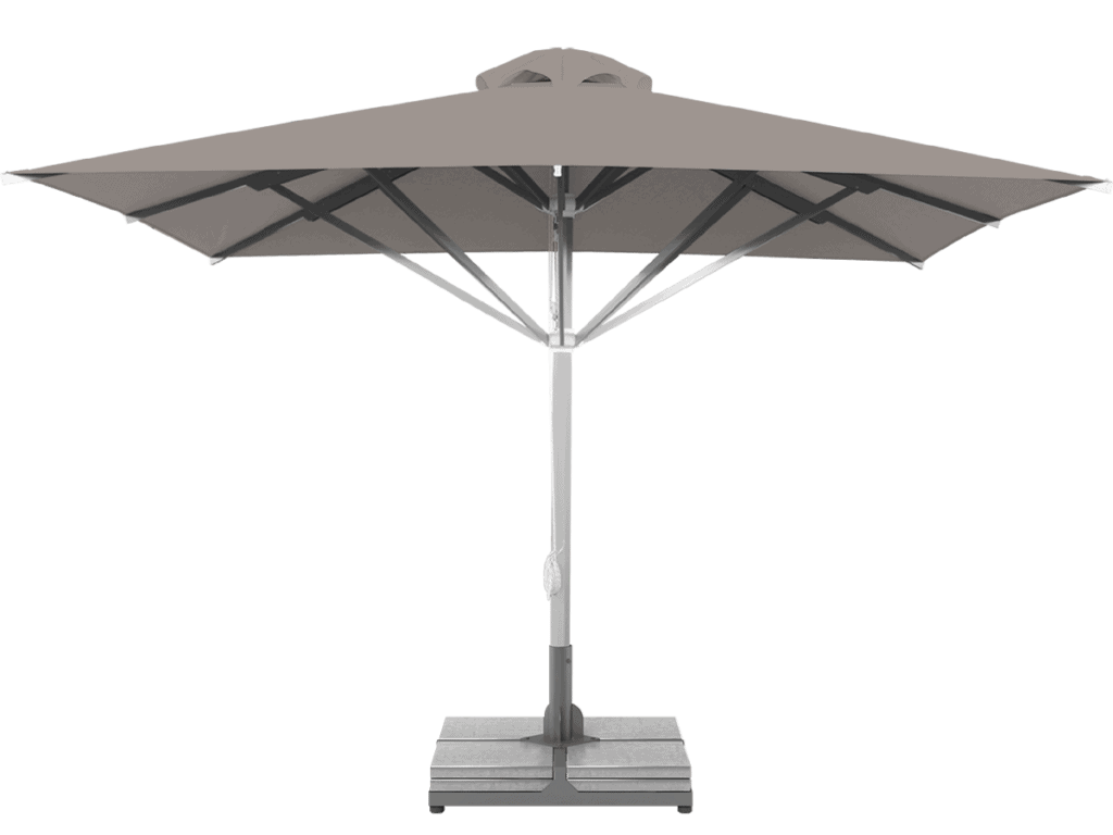 Professional Telescopic Umbrella Grand Extra Heavy - Type gris