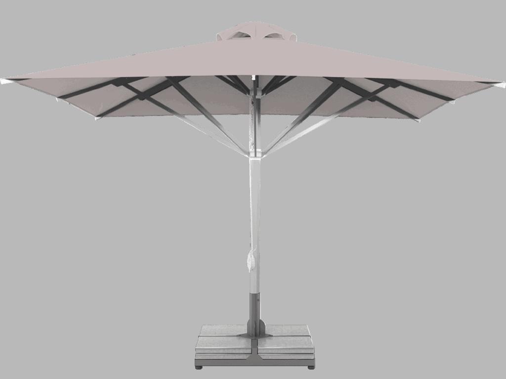 Professional Telescopic Umbrella Grand Extra Heavy - Type pierre