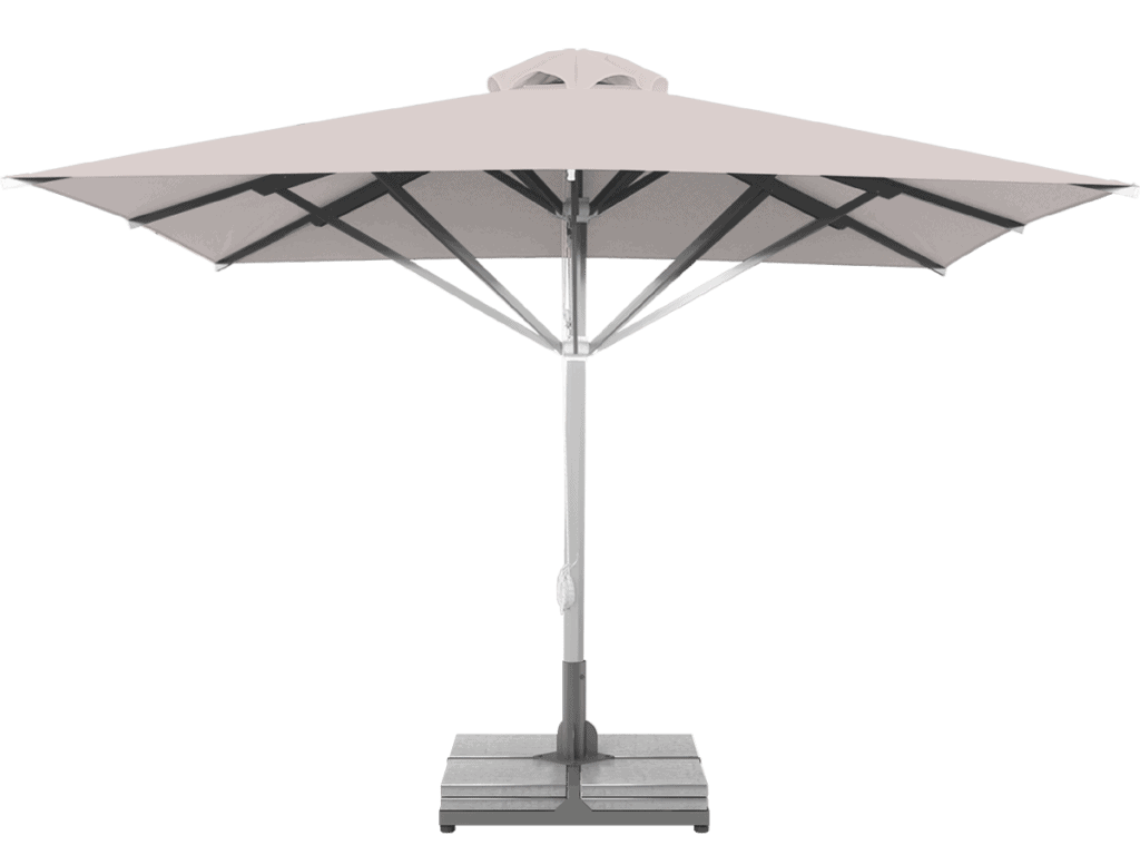 Professional Telescopic Umbrella Grand Extra Heavy - Type nuages