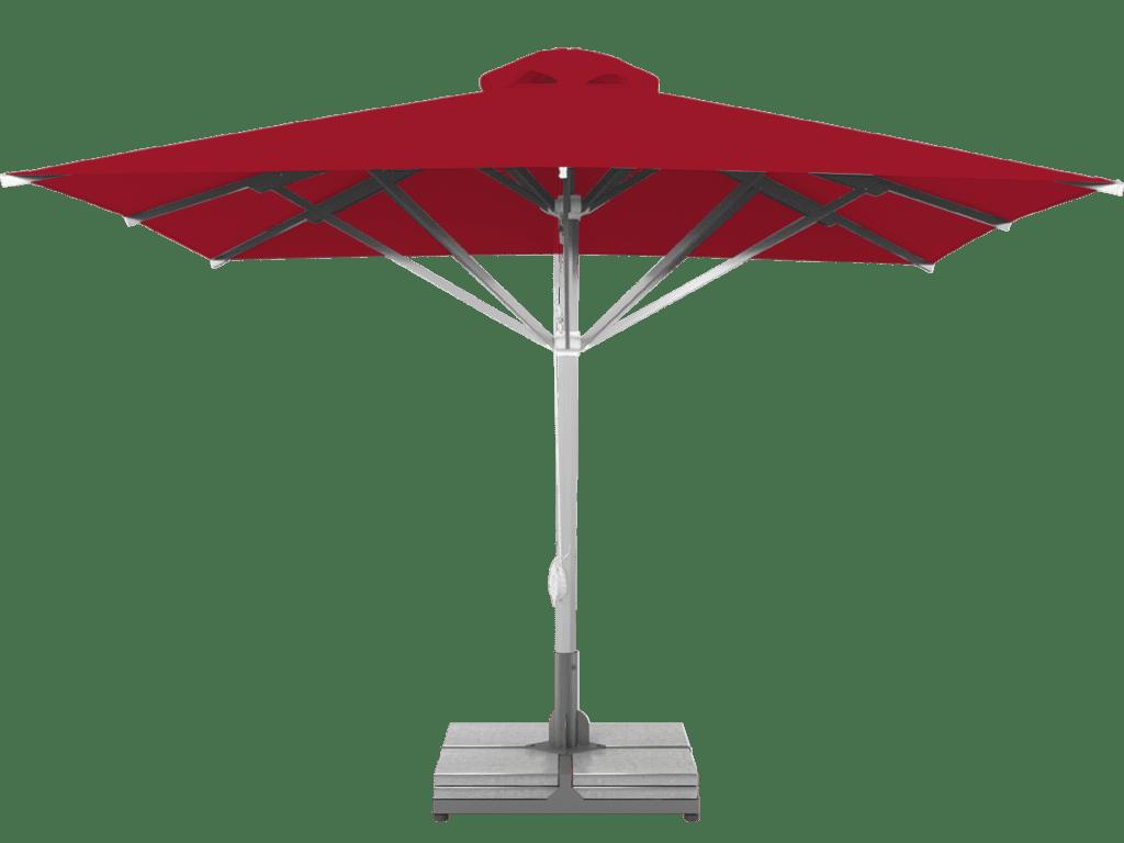Telescopic Professional Umbrella Grand Extra Heavy Type cerise