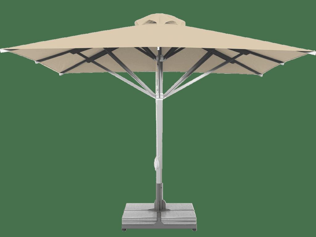 Telescopic Professional Umbrella Grand Vanille Extra Heavy Type - Sunblock