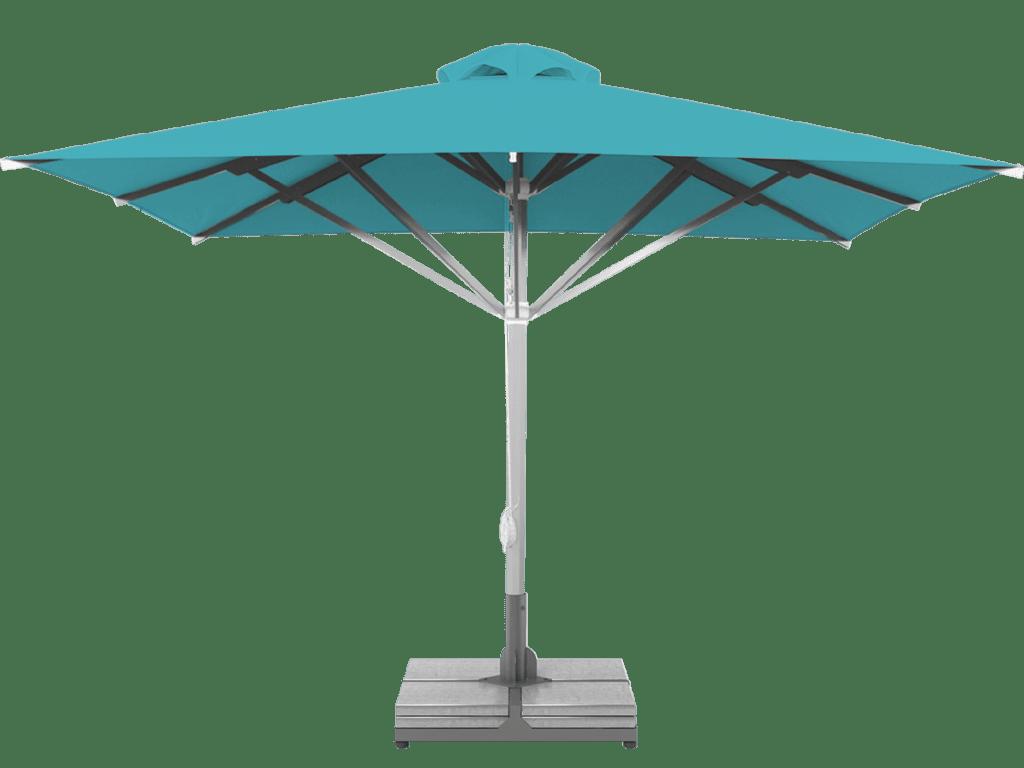 Professional Telescopic Umbrella Grand Extra Heavy Type turqoise