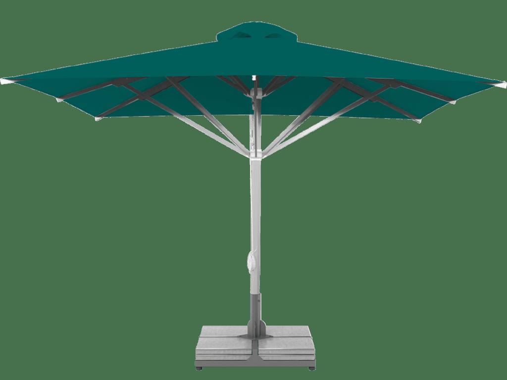 Telescopic Professional Umbrella Grand Extra Heavy Type emeraude