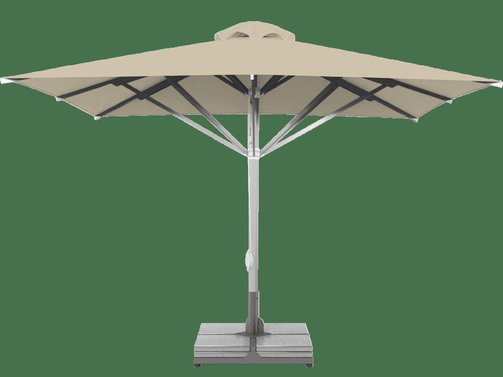 Telescopic Professional Umbrella Grand Ivoire Extra Heavy Type - Sunblock