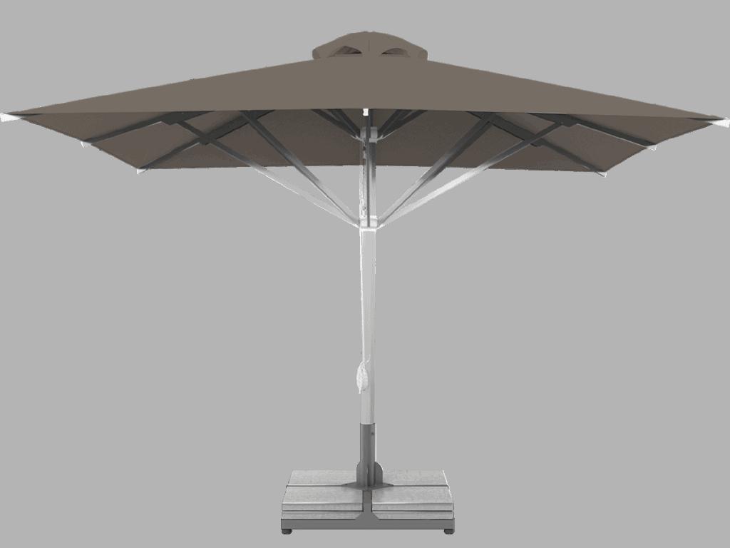 Professional Telescopic Umbrella Grand Extra Heavy - Type taupe