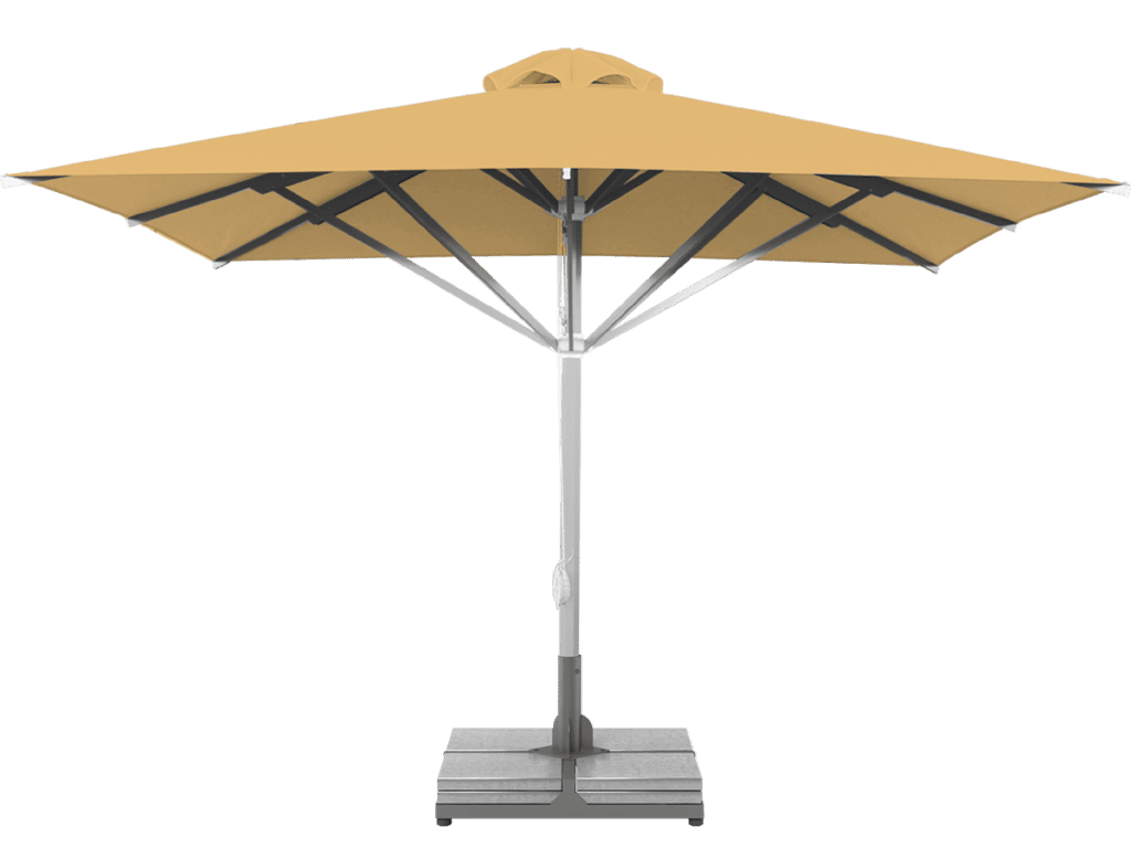 Telescopic Professional Umbrella Grand Paille Extra Heavy Type - Sunblock