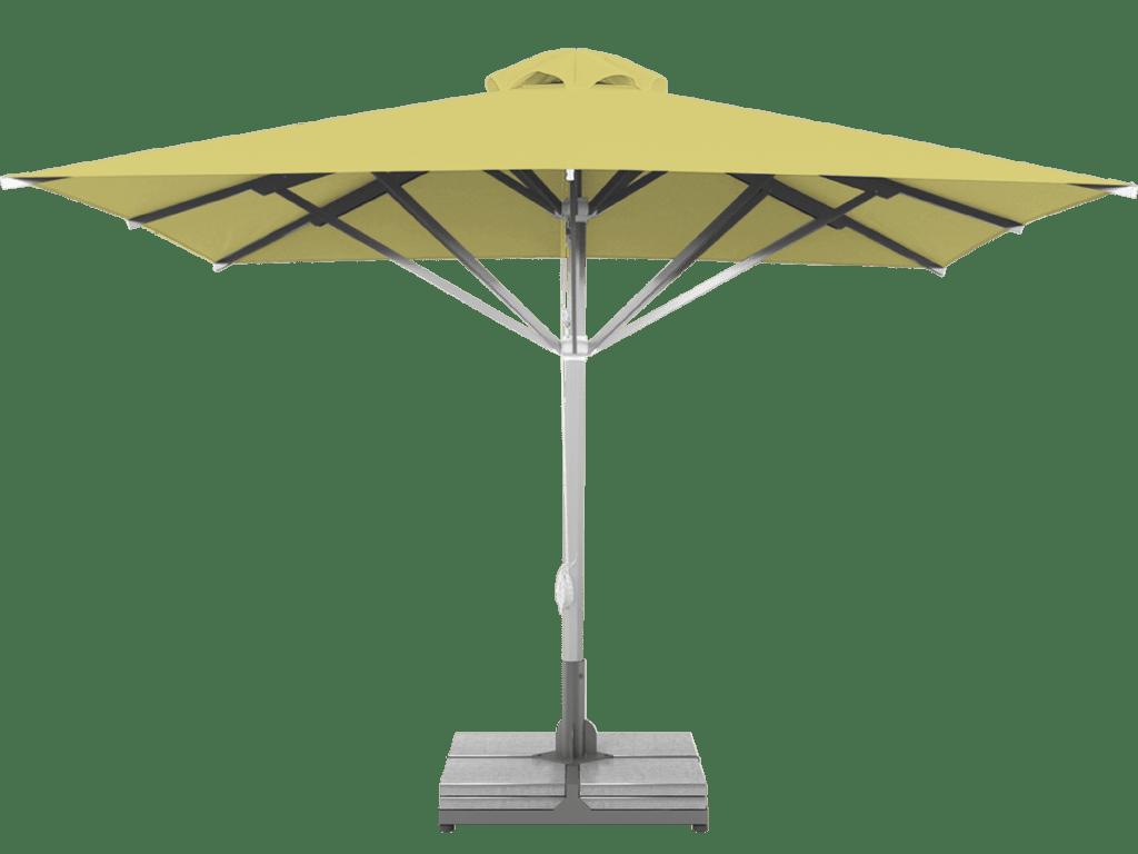 Telescopic Professional Umbrella Grand Citron Extra Heavy Type - Sunblock