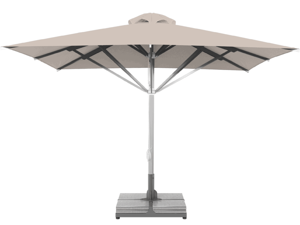 Telescopic Professional Umbrella Grand Extra Heavy - Type perle
