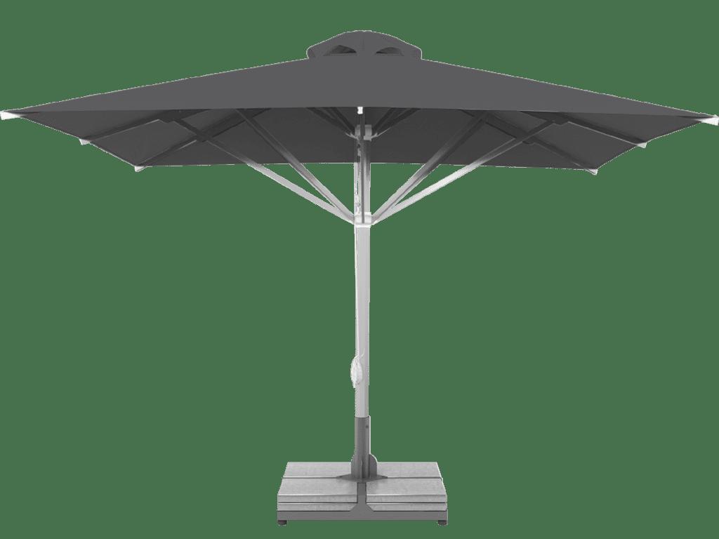 Telescopic Professional Umbrella Grand Extra Heavy - Type ardoise