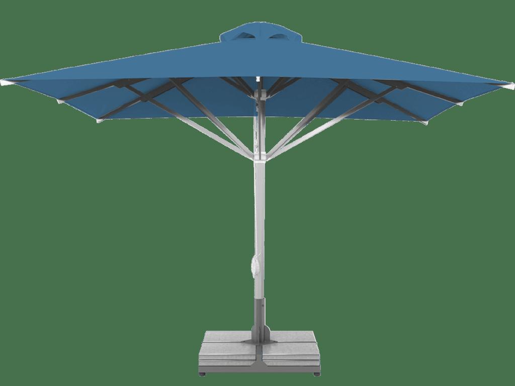 Professional Telescopic Umbrella Grand Extra Heavy Type bleuet