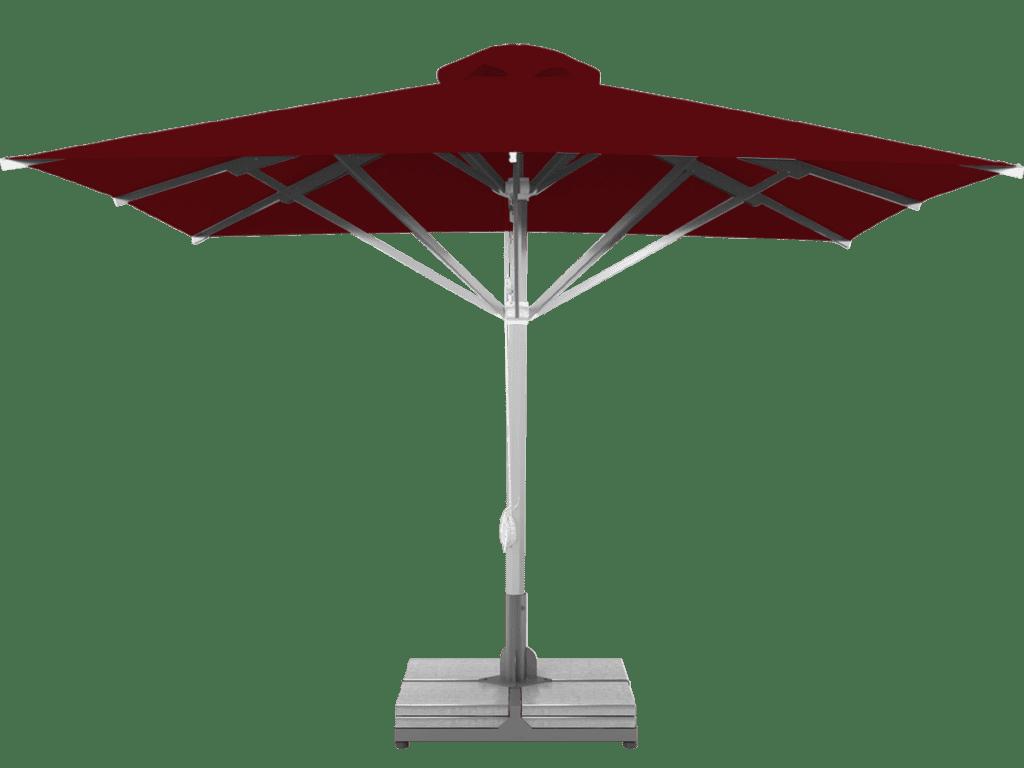 Telescopic Professional Umbrella Grand Extra Heavy Type bordeaux