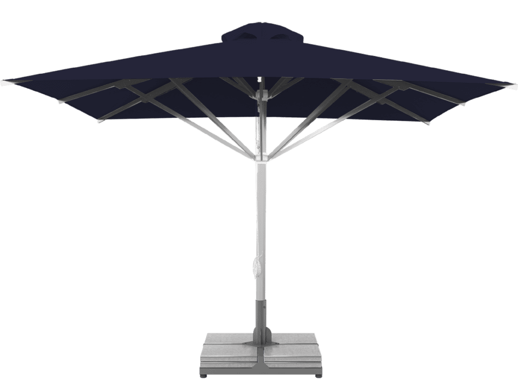 Professional Telescopic Umbrella Grand Extra Heavy Type bleuet-nuit