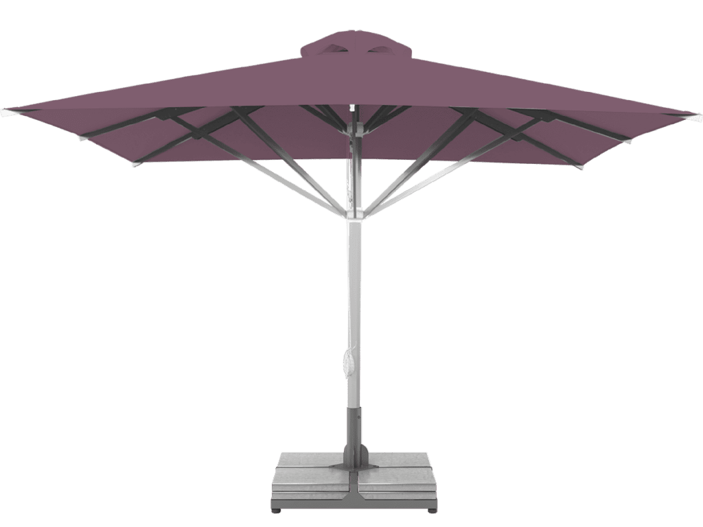 Τηλεσκοπική Ομπρέλα Επαγγελματική Grand Υπέρ-βαρέως Τύπου mauve