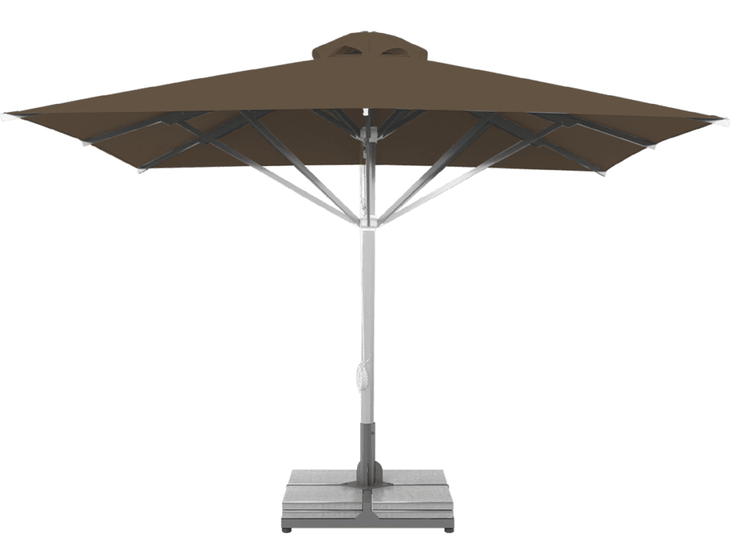 Professional Telescopic Umbrella Grand Extra Heavy - Type cacao