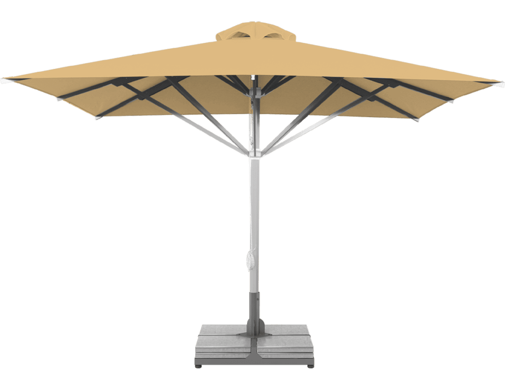 Telescopic Professional Umbrella Grand Marseille Flamme Extra Heavy Type - Sunblock