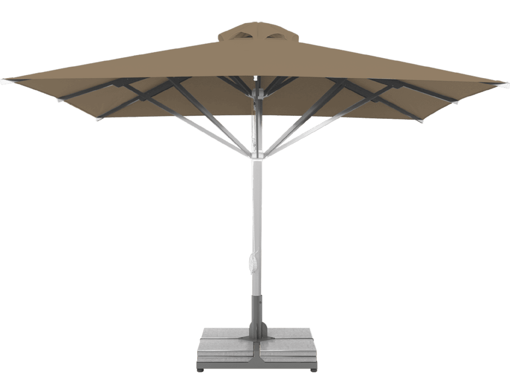 Professional Telescopic Umbrella Grand Extra Heavy - Type bruyere