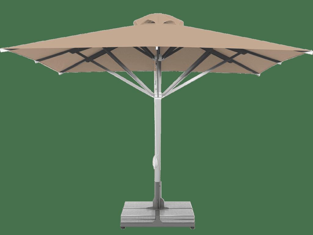Professional Telescopic Umbrella Grand Extra Heavy - Type beige