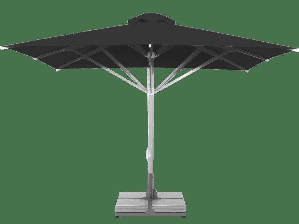 Telescopic Professional Umbrella Grand Extra Heavy - Type basalte-chine