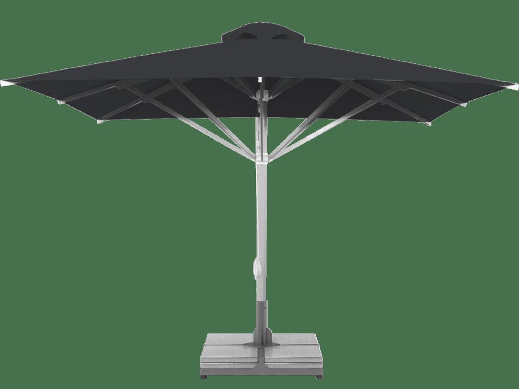 Telescopic Professional Umbrella Grand Extra Heavy - Type carbone