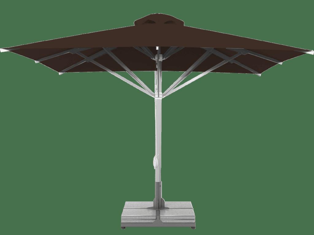 Professional Telescopic Umbrella Grand Extra Heavy - Type brownie