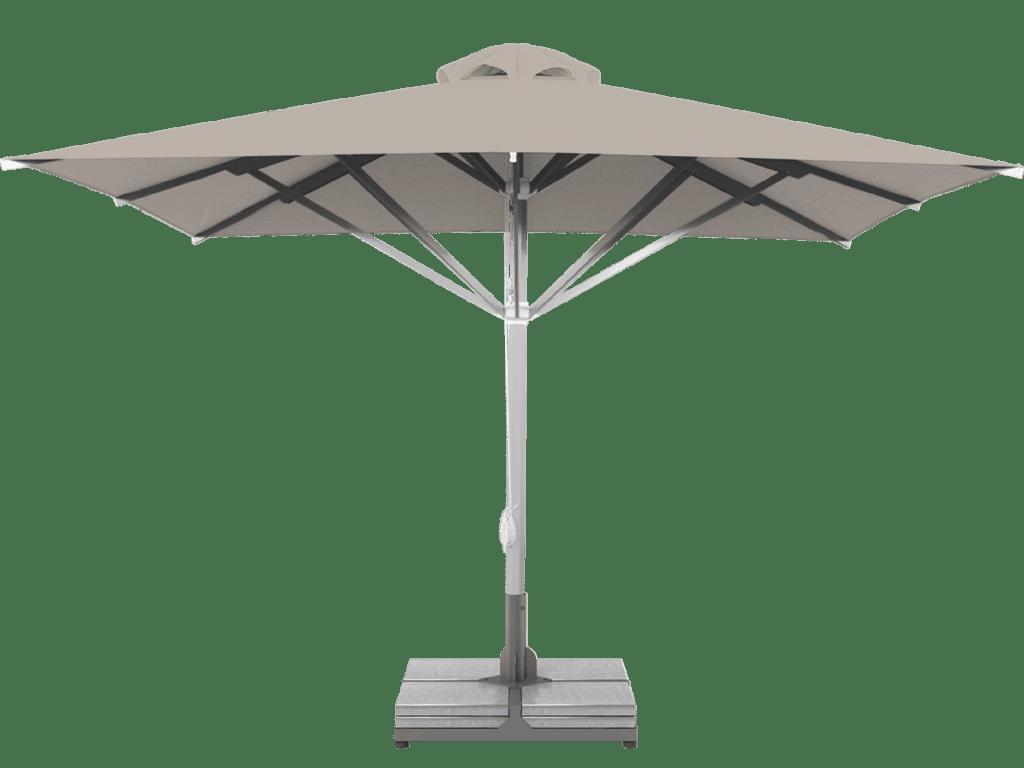 Professional Telescopic Umbrella Grand Extra Heavy - Type Argile