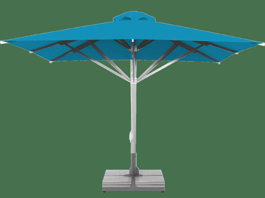 Professional Telescopic Umbrella Grand Extra Heavy Type azur