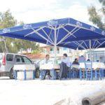 Telescopic Professional Umbrella Grand Extra Heavy Type - Shading Systems Sunblock
