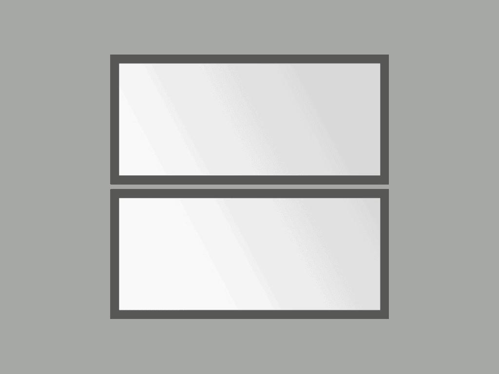 BISTRO Fixed Partitions minimal - Sunblock