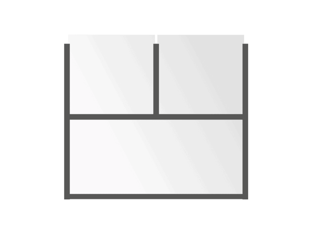 BISTRO Fixed Partitions Classic - Sunblock