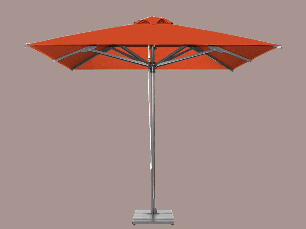 Ομπρέλα Επαγγελματική Classic Ενισχυμένη Βαρέως Τύπου orange