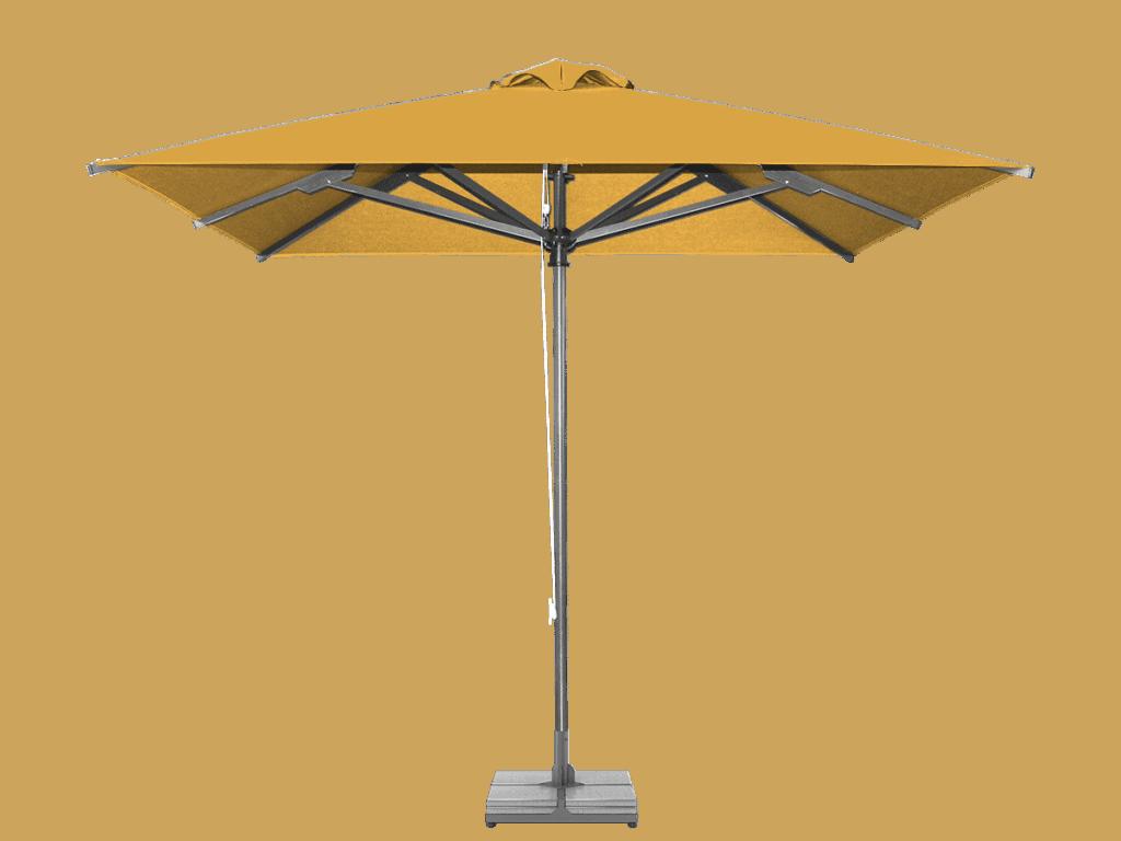 Professional Umbrella Classic Enhanced Heavy Type jaune
