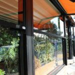 Pergola Fall Open and Closed Partitions for Pergolas - Windshield-partitions Sunblock