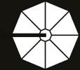 Hanging Professional Umbrella Rio Heavy - Type Round - 8 Rays - Sunblock