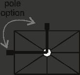 Hanging Professional Umbrella Rio Heavy - Type Rectangle - 8 Rays - Sunblock