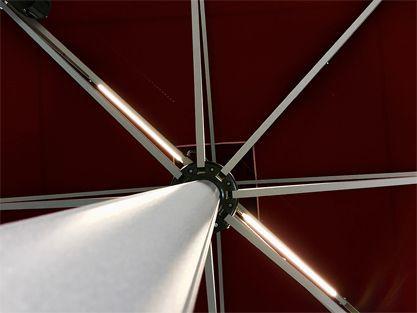 Professionelle Schirme - Sunblock Schatten-Systemen