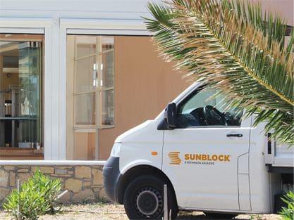 Εγκατασταση Συστηματος Σκιασης Ομπρελες Διαχωριστικα Περγκολες Τεντες - Υπηρεσίες Sunblock