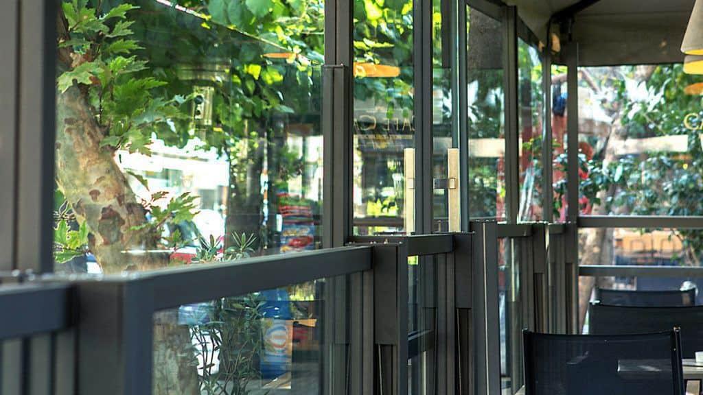 Διαχωριστικα Εξωτερικου Χωρου για μαγαζιά εστίασης