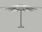 Τηλεσκοπικη Επαγγελματικη Ομπρελα Queen XL Χωρις Βολαν - Sunblock