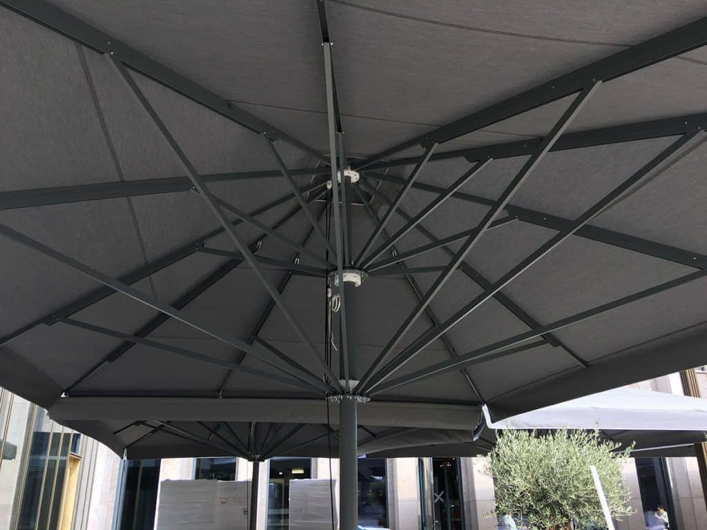 Telescopic Professional Umbrella Queen XL - Shading and Protection Systems Sunblock